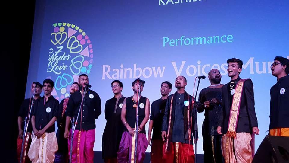 Rainbow Voices Mumbai - Vinodh Phillip - Proud Gay Indian Chorister