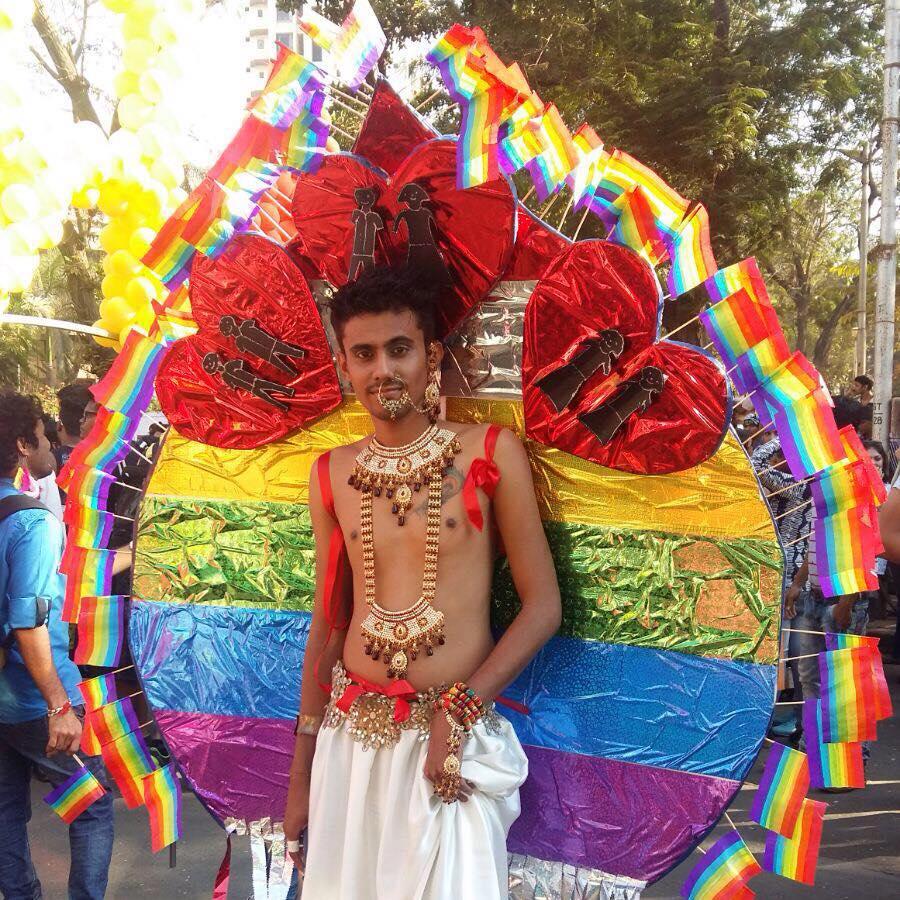 Pride Walk costumes of sumit