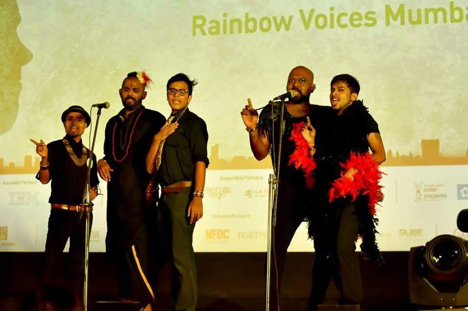 Rainbow Voices Mumbai - Vinodh Phillip - Proud Gay Indian Corister