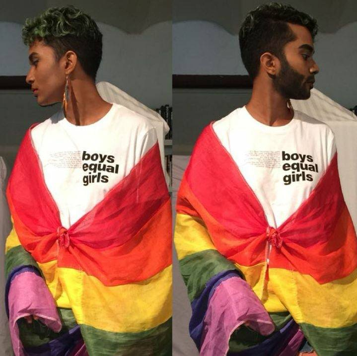 Gender Fluid Rainbow Bearer - Durga Gawde - Queer Voices of India